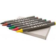 Boîte de 6 crayons gras AYO