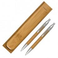 Parure bille + mine en bambou ENOLA