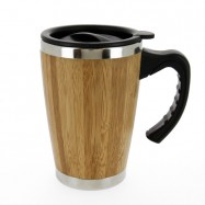 Mug isotherme en bambou BATCH