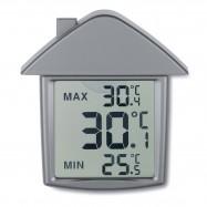 Horloge et thermomètre LCD...