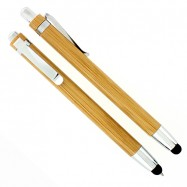 Stylo bille et stylet en bambou WONDER