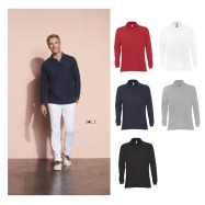Polo homme manches longues STAR