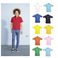 Polo enfant manches courtes SUMMER II