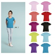 Tee-Shirt fillette CHERRY