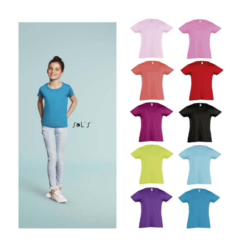 f640a297d5827 Tee-Shirt fillette CHERRY