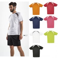 Tee shirt homme bicolore sport MATCH