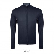 Gilet maille jersey homme boutonné