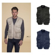 Gilet reporter multipoches WILD