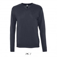 Pull maille jersey homme col V GALXY
