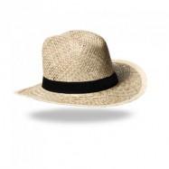 Chapeau en paille dorée SURI