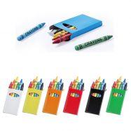 Etui de 6 crayons gras TUNE