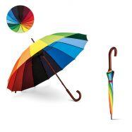 Parapluie multicolore DUHA 16 panneaux