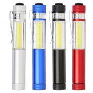 Lampe torche COB avec base aimantée STIX