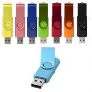 Clés USB pivotante aluminium anodisé