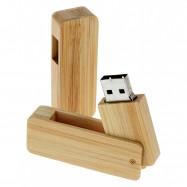 Clé USB pivotante en bambou ou bois