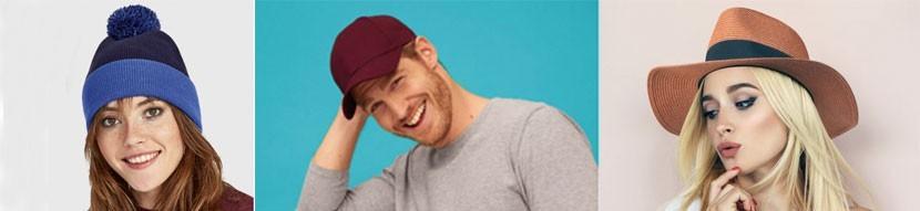 Casquettes - chapeaux - bonnets publicitaires - Prom'Objet Pub