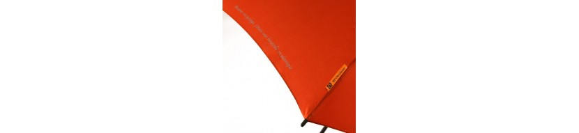 Parapluies publicitaires écologiques - Prom'Objet Pub