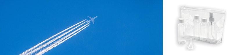 Trousses avion personnalisables - Prom'Objet Pub