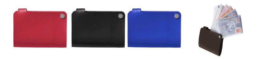 Portefeuilles, porte-monnaie et porte-cartes de crédit publicitaires