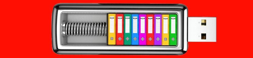 Clés USB publicitaires lumineuses
