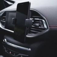 Chargeur par induction 1A avec support de téléphone pour voiture INDUCAR