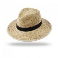 Chapeau Panama en paille dorée PANS