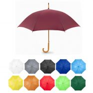 Parapluie mini golf manche canne bois