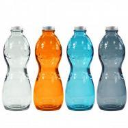 Bouteille en verre recyclé AQUA GLOUGLOU