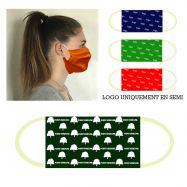 Masque barrière tissu COVID-19