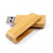 Clé USB pivotante en bambou...