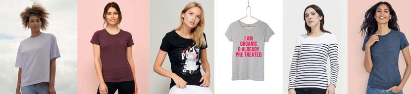 Tee-shirts femme publicitaires - Prom'Objet Pub