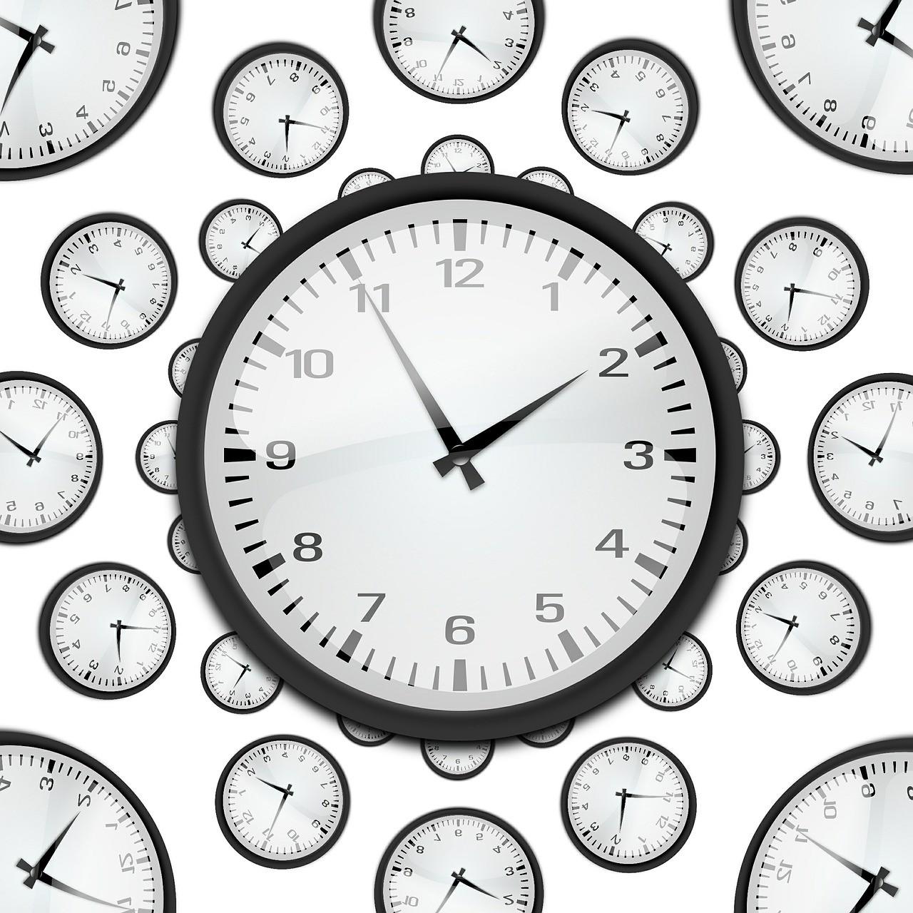 Horloges publicitaires