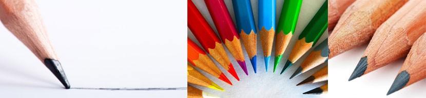 Crayons publicitaires