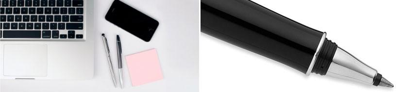 Stylos Roller et encre gel personnalisables